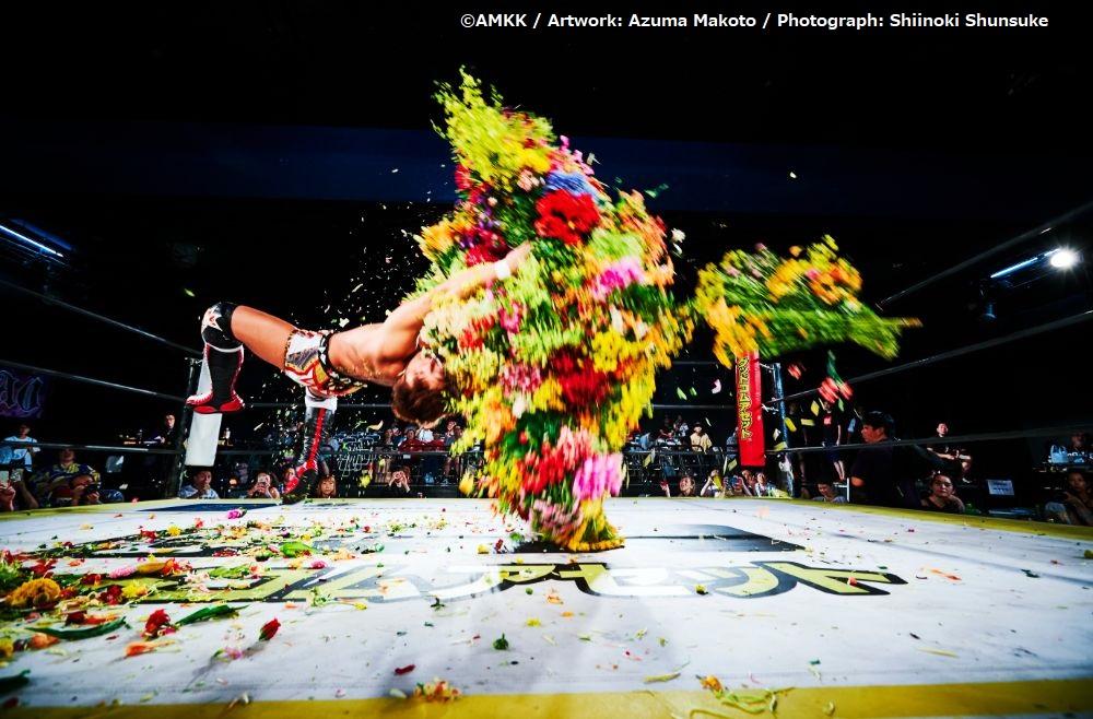 【タレントキャスティング】フラワーアーティスト東信氏率いるAMKKのFLOWER&MAN撮影に協力